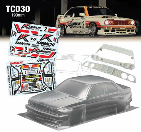 TC030 KAMACHI BMW E30 190mm - L&L models