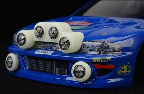 SUBARU WRC LAMP POD KIT - L&L models