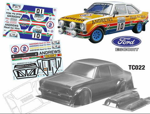 TC022 FORD ESCORT MK2 V2 ANDREWS HEAT FOR HIRE - L&L models