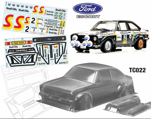 TC022 FORD ESCORT MK2 V2 ARI VATANEN EDITION - L&L models