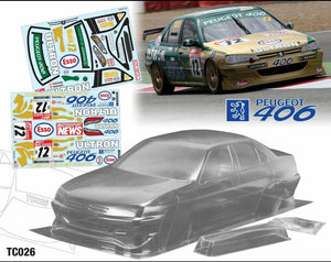 TC026 Peugeot 406 190mm - L&L models