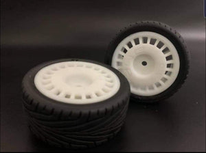 Escort Rally Wheels (2pcs) - L&L models