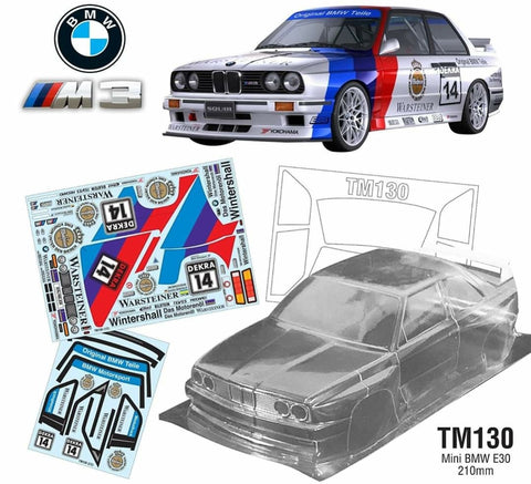 TM130 Mini BMW E30 M3, 210mm