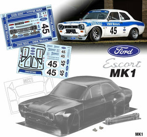 Mk1 Escort Bodyshell Kit 190mm VWM MOTORS