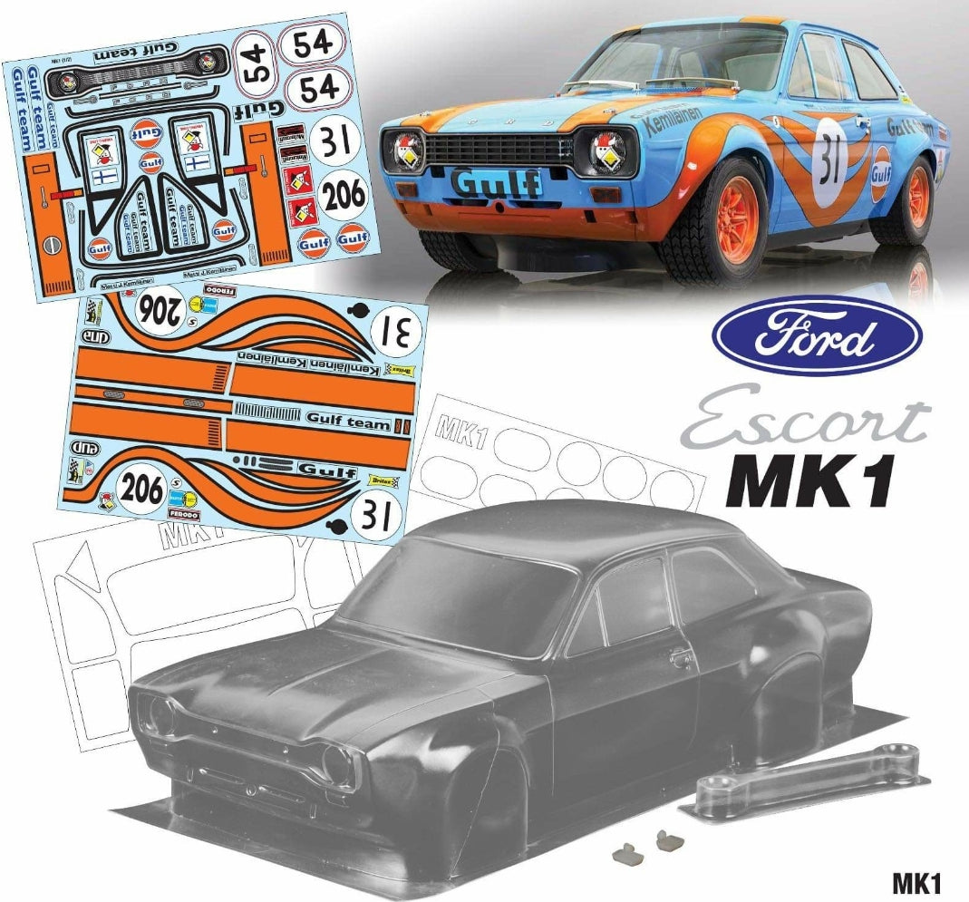 Mk1 Escort Bodyshell Kit 190mm GULF