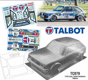 Talbot Lotus Sunbeam 190mm