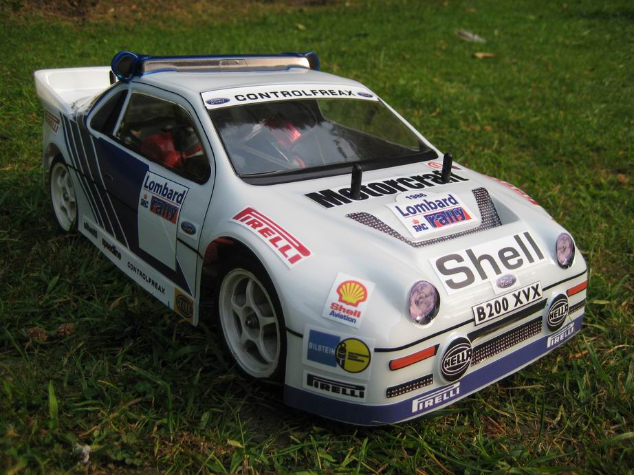 Ford RS200 Rally Body 190MM - L&L models