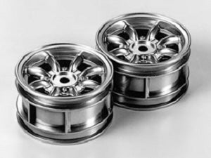 Tamiya Rover Mini Cooper 94 Monte Carlo Plated Wheels #50676 - L&L models