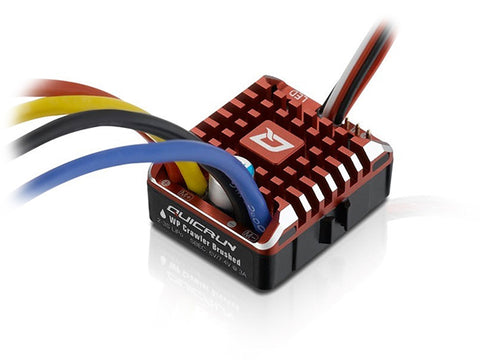 Hobbywing Quicrun 1080 80amp WP Brushed Crawler ESC HW30112750 - L&L models