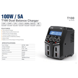 SKY RC T100 BATTERY CHARGER SK-100162