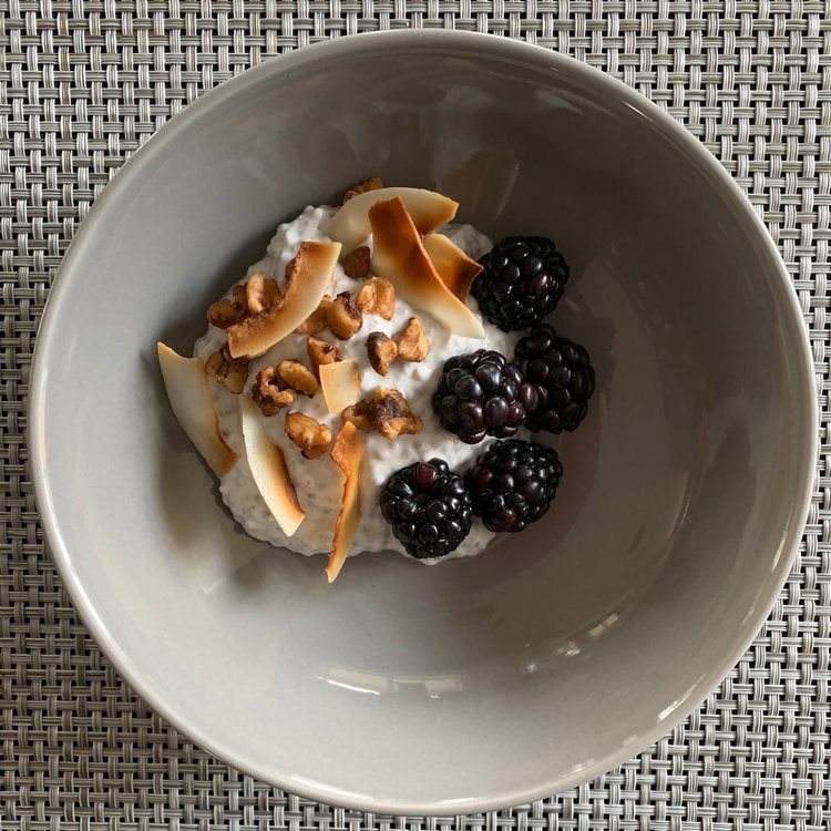 Recipe-Creamy Chia Coconut Pudding