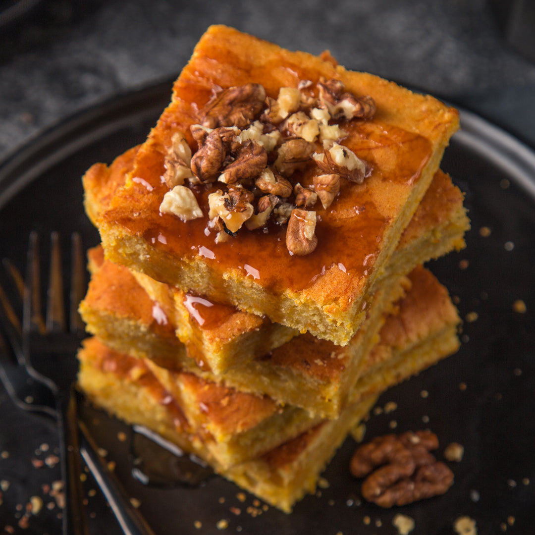 Pumpkin Spice Cheesecake Bars