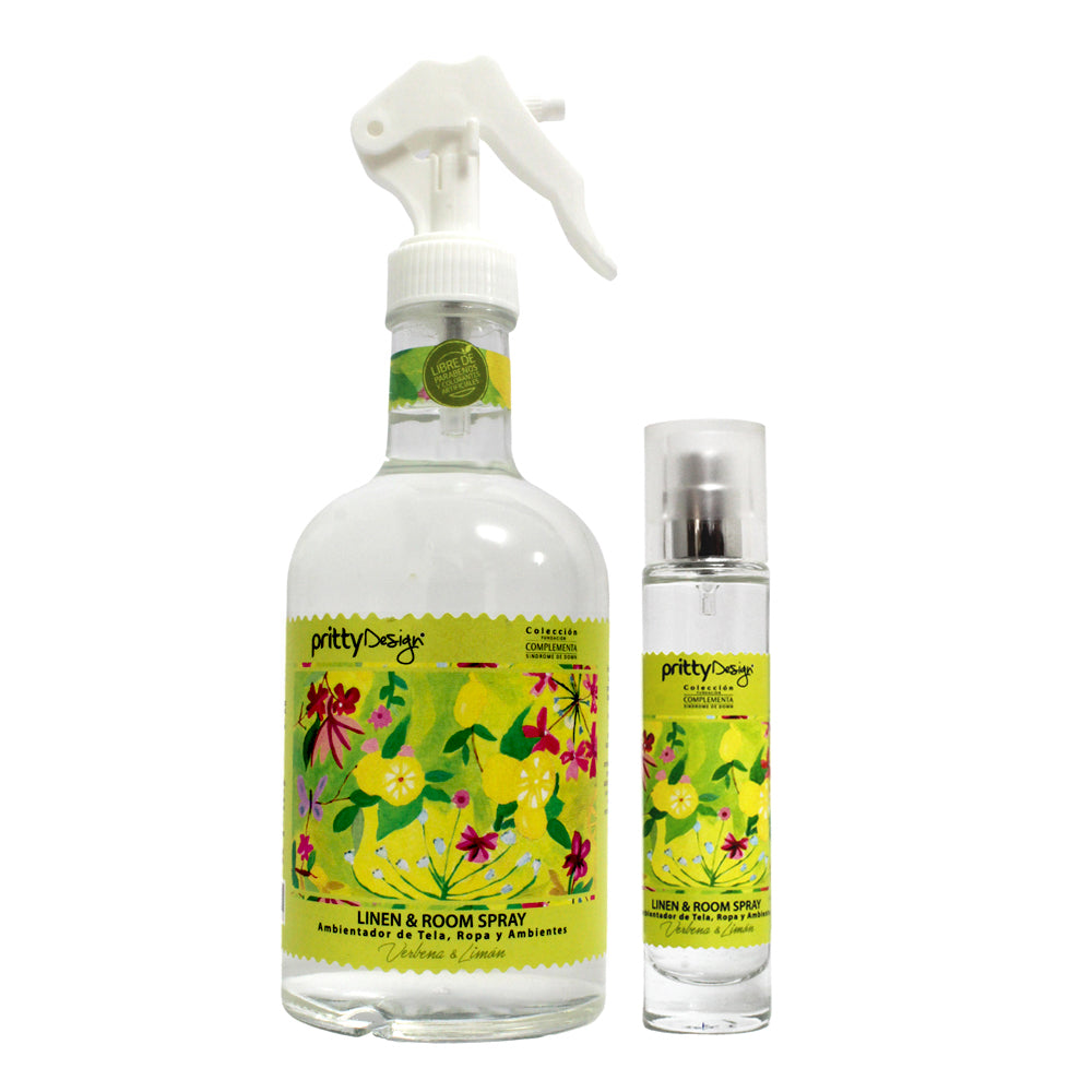 Room Spray mas Pocket Verbena & Limón