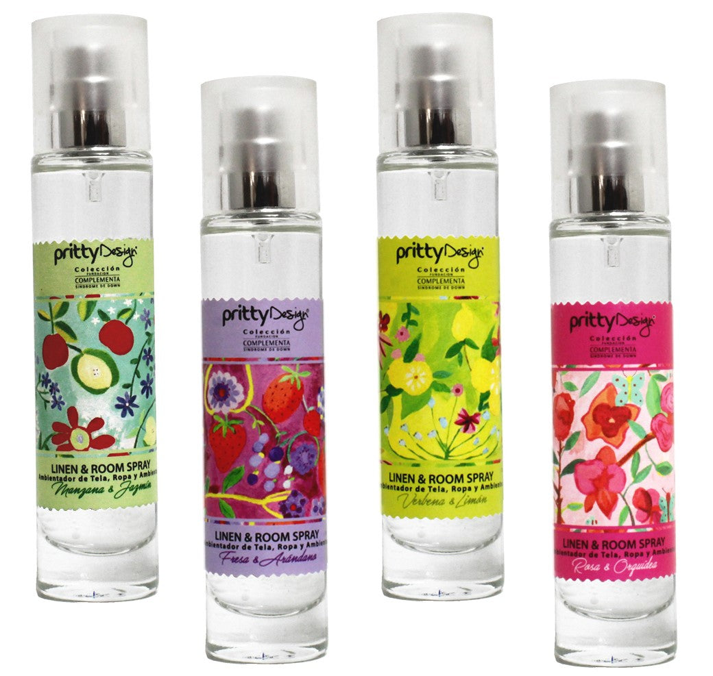 Set 4 Pocket Room Spray