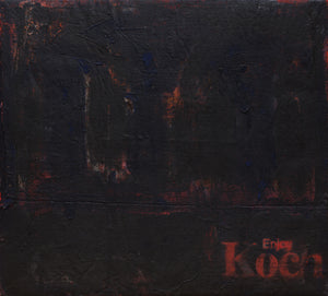 "Enjoy Koch #3 (63"" x 57"")"