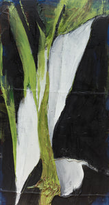 "Peace Lily (38"" x 72"")"