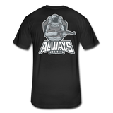 It's all ATLG Always has been - Fitted Cotton/Poly T-Shirt - black