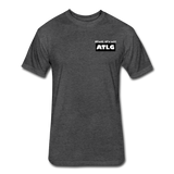 It's all ATLG Always has been - Fitted Cotton/Poly T-Shirt - heather black