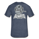 It's all ATLG Always has been - Fitted Cotton/Poly T-Shirt - heather navy