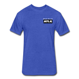 It's all ATLG Always has been - Fitted Cotton/Poly T-Shirt - heather royal