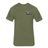 It's all ATLG Always has been - Fitted Cotton/Poly T-Shirt - heather military green