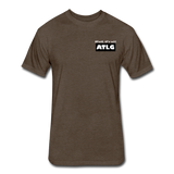 It's all ATLG Always has been - Fitted Cotton/Poly T-Shirt - heather espresso