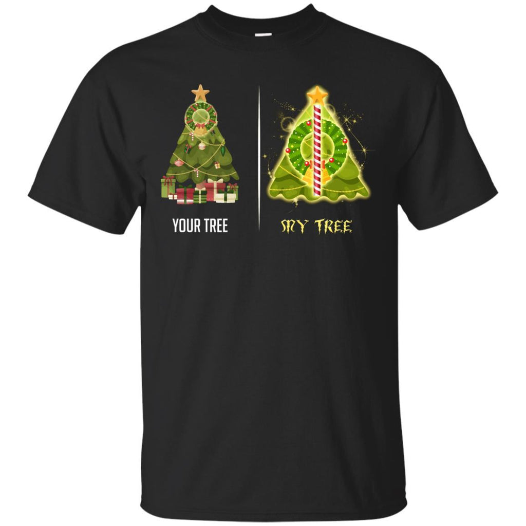 harry potter christmas tree shirt hover to zoom