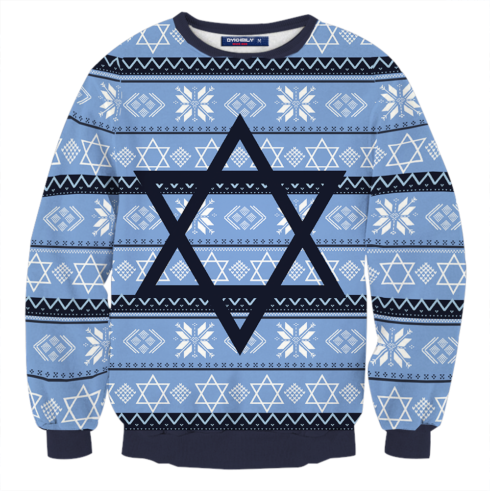 The Night Before 2015 Isaac Cosplay Ugly Christmas 3d Sweater