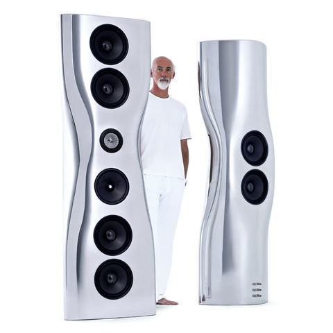 KEF's Iconic MUON Speakers Designer - Ross Lovegrove | KEF MUON 設計大師 Ross Lovegrove