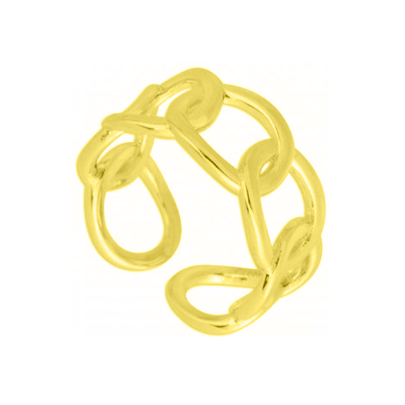 ANILLO  BIG CHAIN ORO