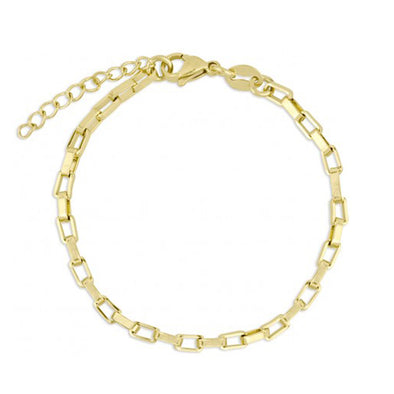 PULSERA CHAIN RECTANGLE