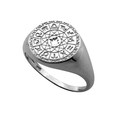 ANILLO CONSTELLATION SEAL PLATA