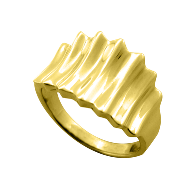ANILLO WAVES GOLD