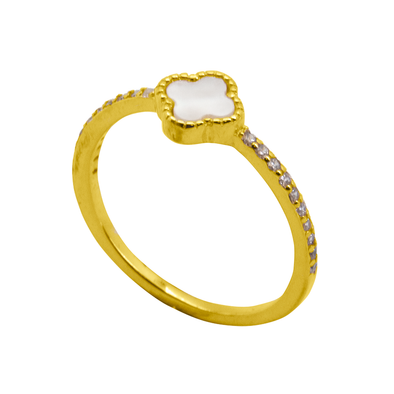 ANILLO WHITE CROSS