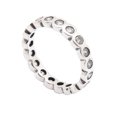 ANILLO UNITED CIRCLES SILVER