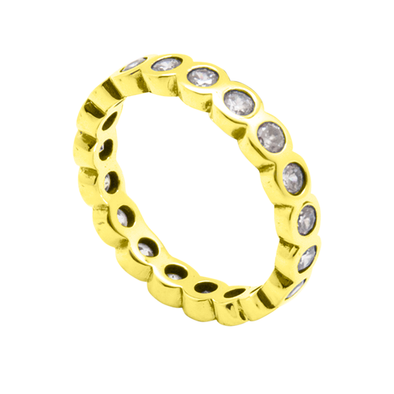 ANILLO UNITED CIRCLES GOLD