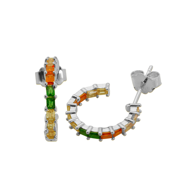 PENDIENTES BIG FRUIT PLATA