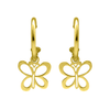 PENDIENTES BUTTERFLY ORO