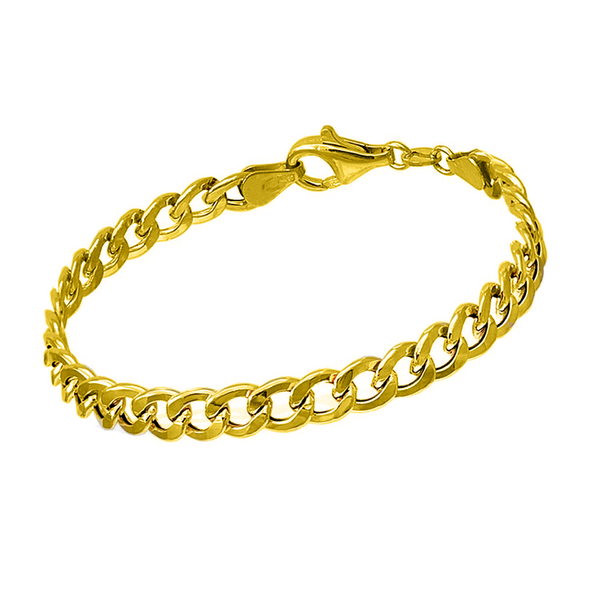 Pulsera big chain oro 18k