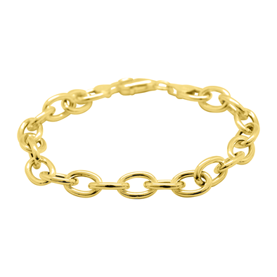 PULSERA STACKING CHAIN GOLD
