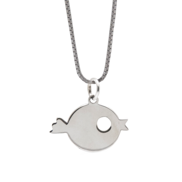 COLGANTE SMALL FISH SILVER