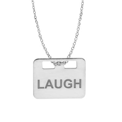 COLGANTE LAUGH WISH PLATA
