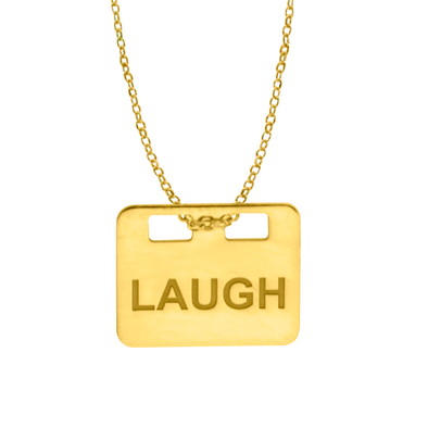 COLGANTE LAUGH WISH ORO
