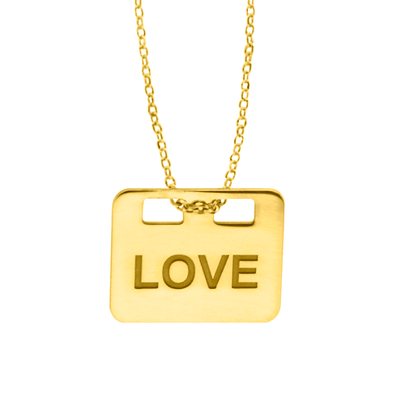 COLGANTE LOVE WISH ORO