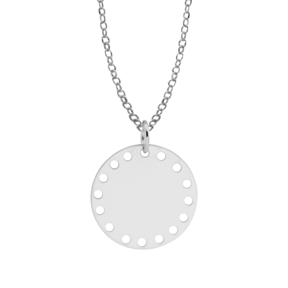 COLGANTE MULTI CIRCLE PLATA
