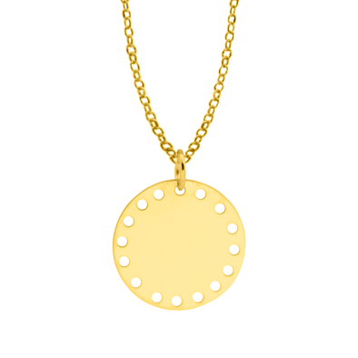 COLGANTE MULTI CIRCLE ORO