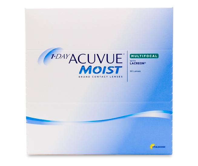 1 Day Acuvue Moist Multifocal 90-Pack - Lensbox™