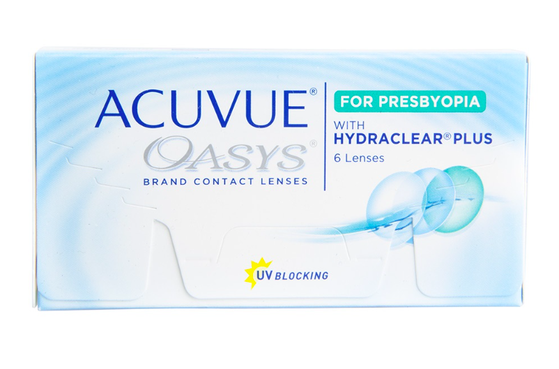 Acuvue Oasys Multifocal for PRESBYOPIA 2-Week Lenses 6-Pack - Lensbox™