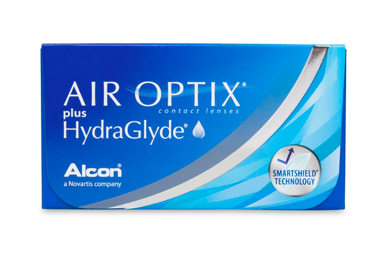 Air Optix Plus HydraGlyde 6-Pack - Lensbox™