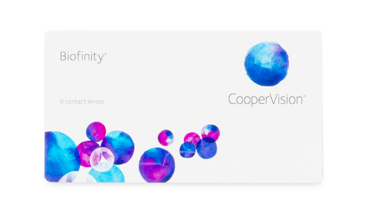 Biofinity Monthly Contact Lenses 6-Pack - Lensbox™